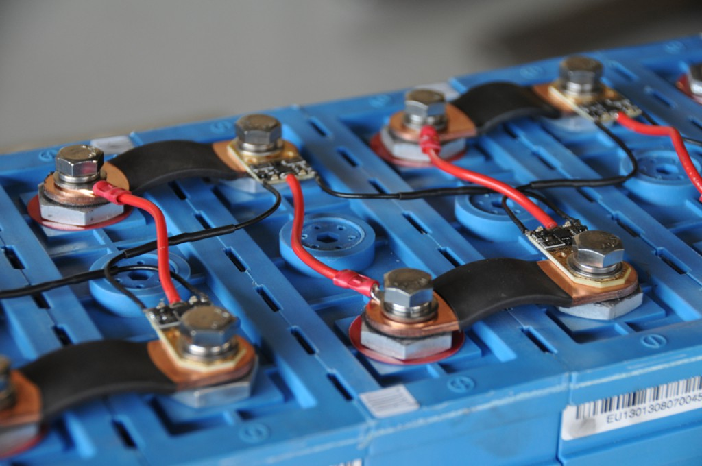 Wired up cells