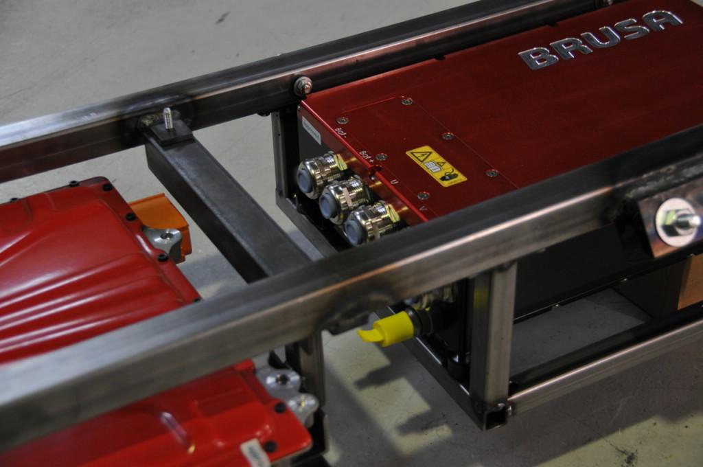Electronics rack