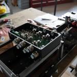 Power electronics rack
