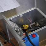 Third battery box